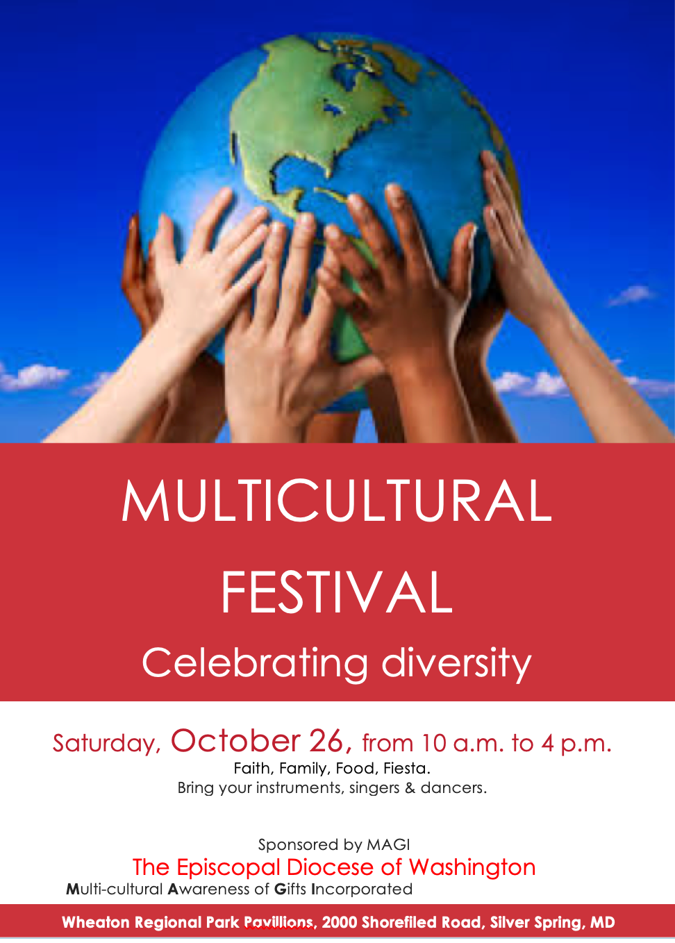 Multicultural Festival Celebrating Diversity | St. Stephen and the Incarnation Episcopal Church