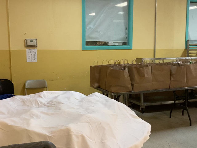 Loaves and Fishes Food Distribution