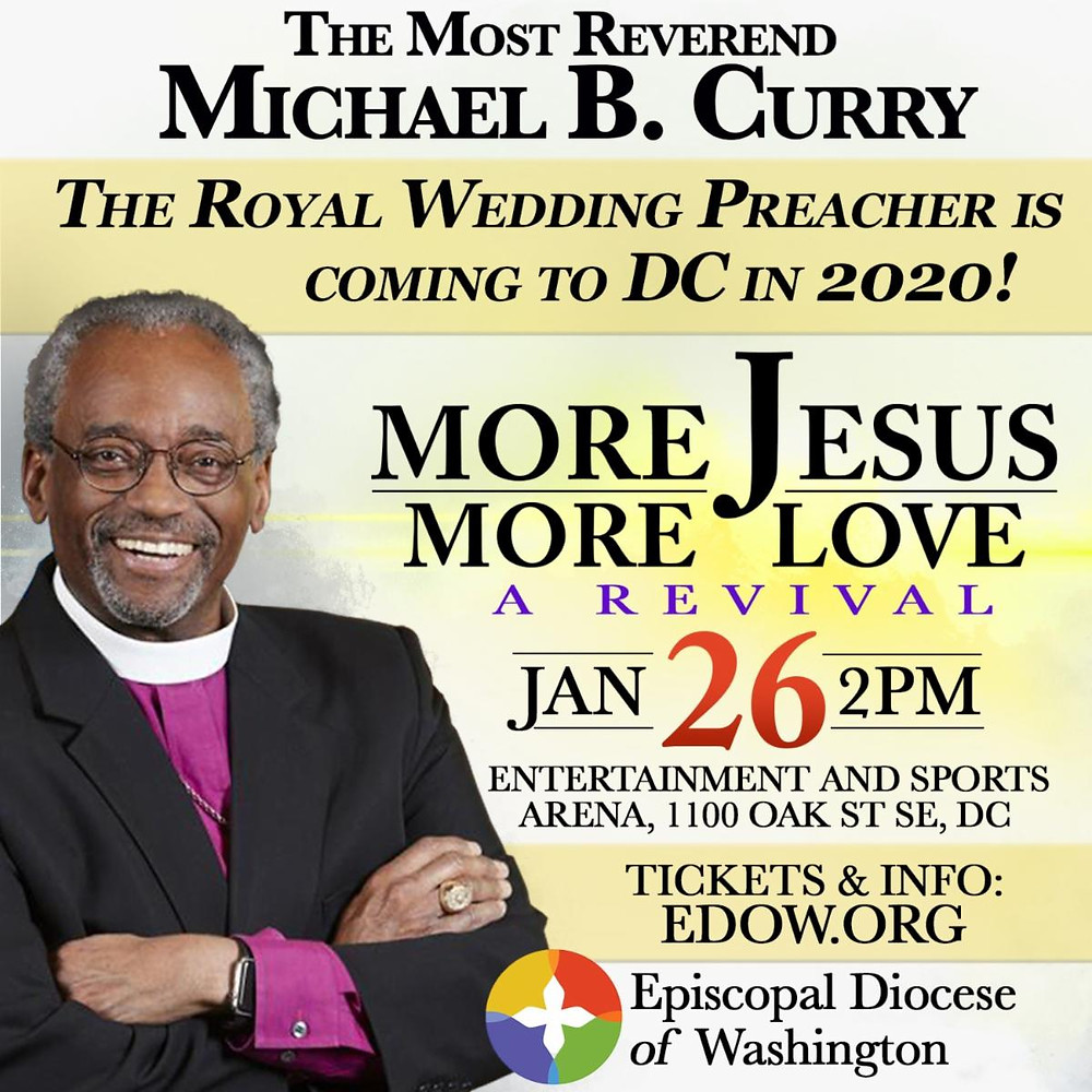 The Most Reverend Michael B. Curry
