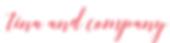 Tina & Company, a creative agency