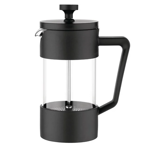 Contemporary Cafetiere Black 3 Cup