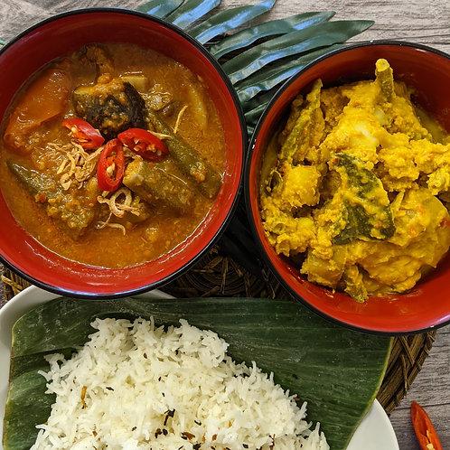 Makan Malaysia: Feast for two (Vegan)