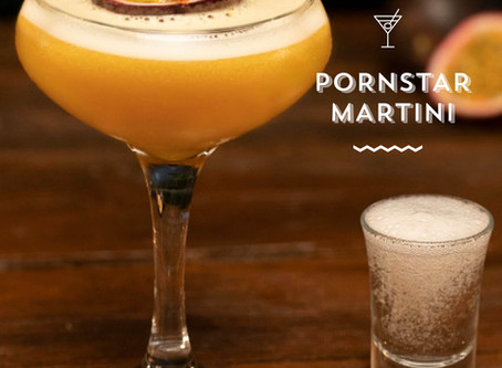 RECIPE: PORNSTAR MARTINI