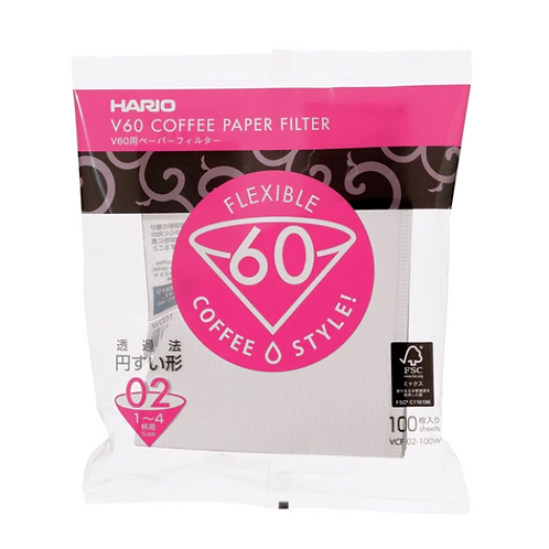 V60 Filter Papers (100 Pack)