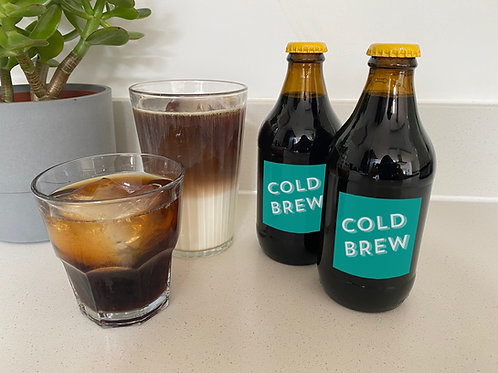 Decaf Cold Brew Concentrate – (3 x 330ml)