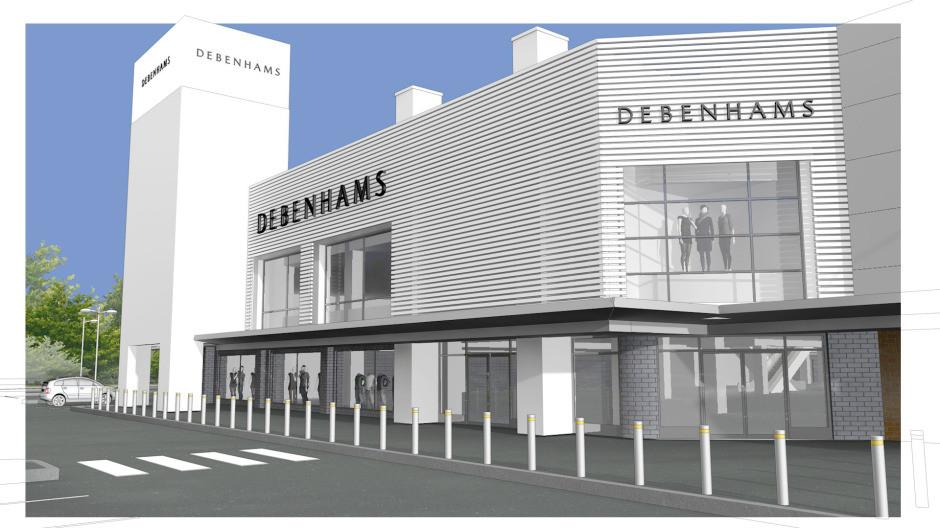 Debenhams Cheshire Oaks