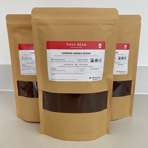 Superior Arabica Blend (Cafetière) – 3 x 200g net