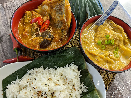 Makan Malaysia: Feast for two (Meat & Fish)