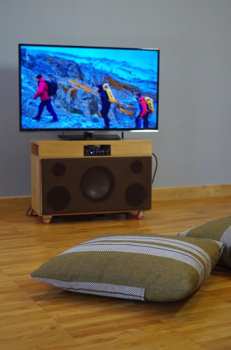 enceinte Bluetooth reliée TV