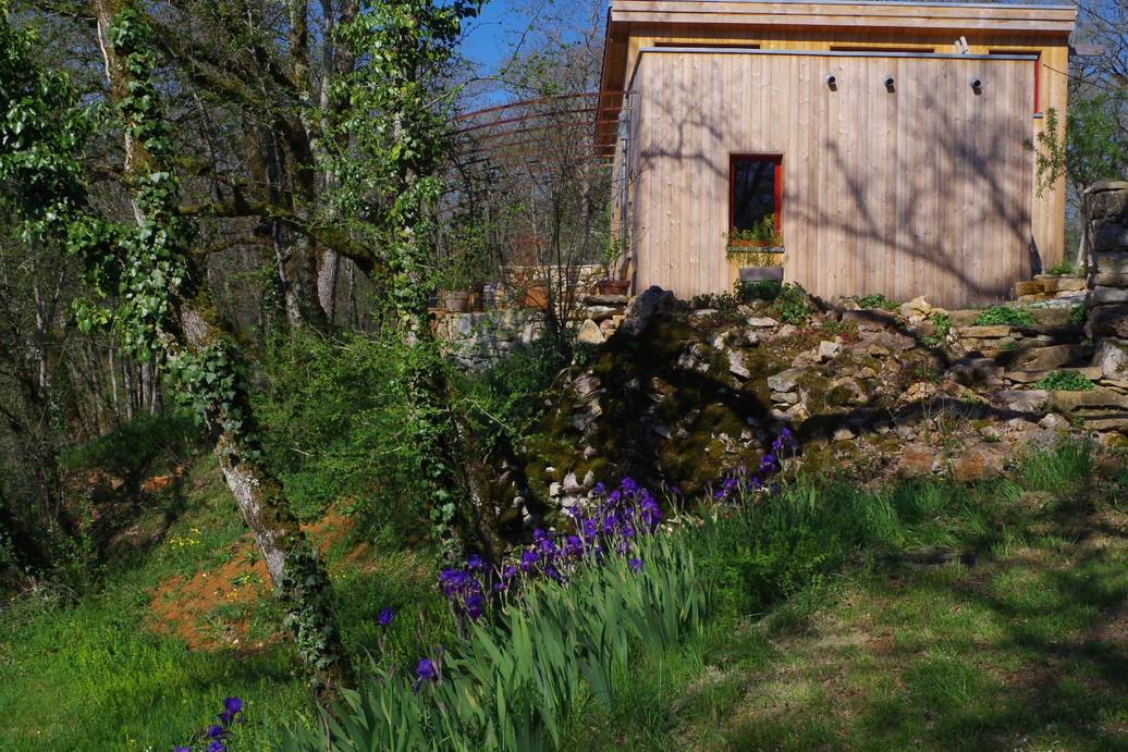 Côté est au printemps