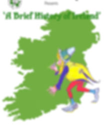 'A Brief History of Ireland' Poster, Wilde Shamrock Touring Theatre, Irish Actors