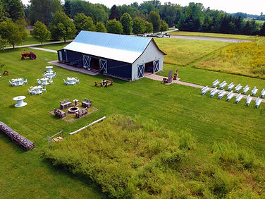 The Sugar Maple Barn Aerial Shot 2020.jp