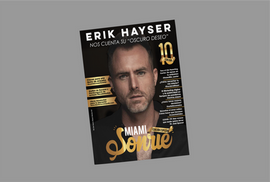 "Revista Sonríe Miami especial Erik Hayser de ""Oscuro Deseo"""""