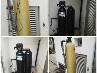 Replace existing water filter with Kinetico Mach Series