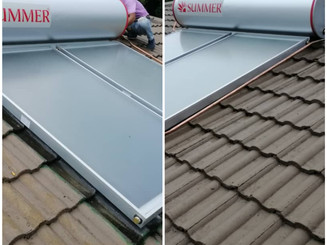 New Solar Thermal System for Residential.