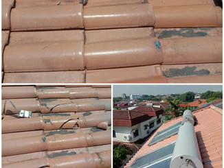 Preventive Maintenance and Remove Solar and Replace of Broken Roof Tiles