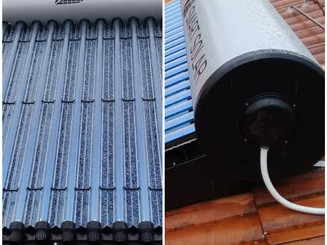 Solar Thermal Evacuayed Tube System for Residential