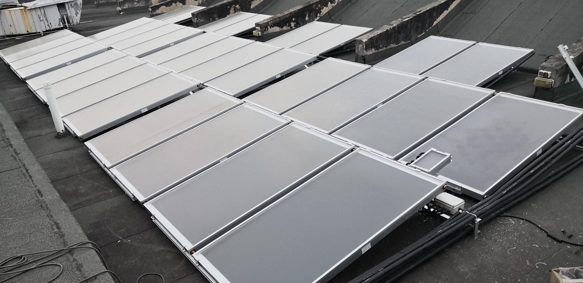 Solar Collecters for RHB Quarter