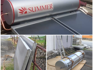 Dismantle and Replace Leaking Solar Thermal System
