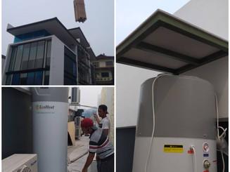 Ecoheat Comoact Heat Pump for Bungalow