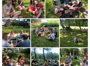 Picknick in het park!