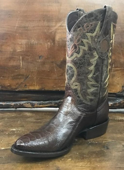 """The Trail Boss"" in Ostrich Leg (Brown)"