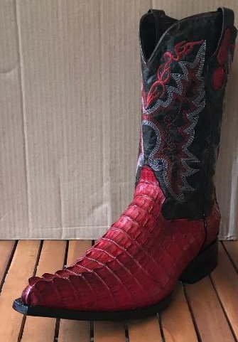"""The Point Rider"" in Caiman Tail (Red)"