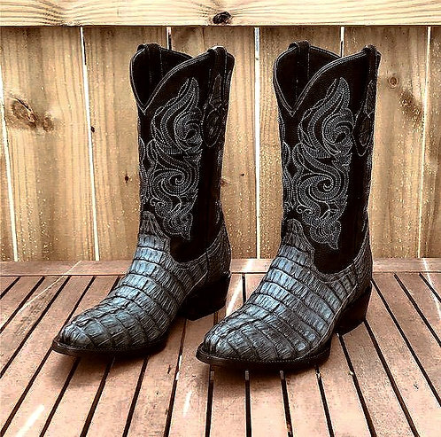 """""""The Trail Boss"""" in Caiman Tail (Grey)"""