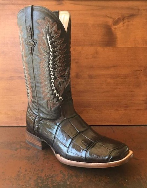 """""""J. W. Ranch Outrider"""" in American Alligator (Brown)"""