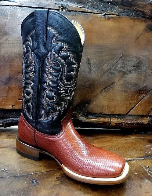 """J. W. Ranch Outrider"" in Lizard (Honey)"