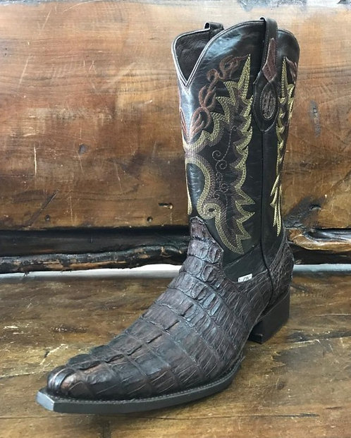 """The Point Rider"" in Caiman Tail (Brown)"
