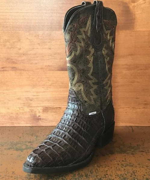 """""""The Trail Boss"""" in Caiman Tail (Brown)"""