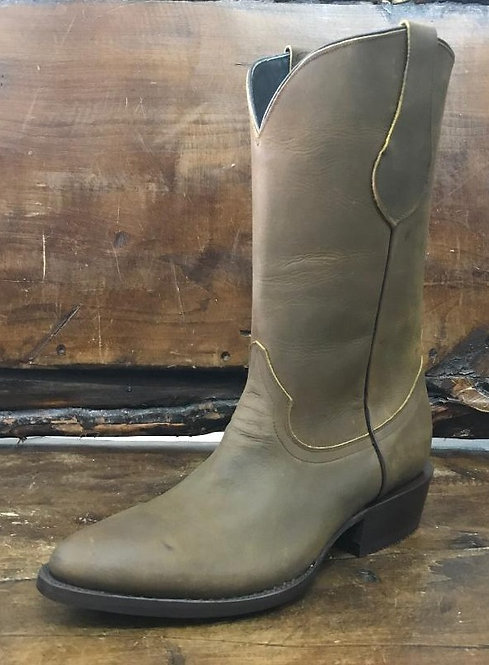 """""""The Trail Boss"""" in Nubuck Oiled Leather (Mocha)"""
