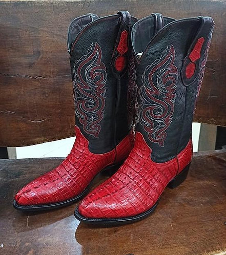 """""""The Trail Boss"""" in Caiman Tail (Red)"""