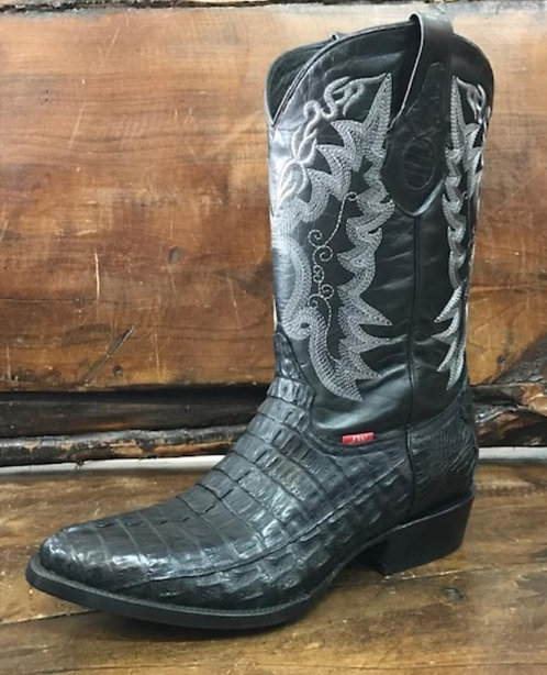 """The Trail Boss"" in Caiman Tail (Black)"