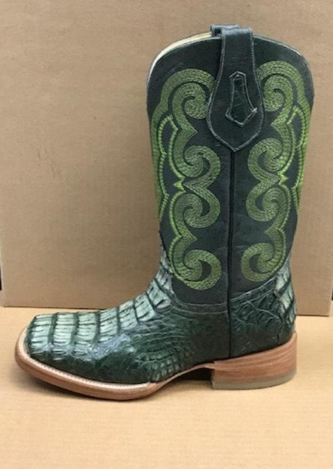 """""""The Outrider"""" in Caiman Nape (Green)"""