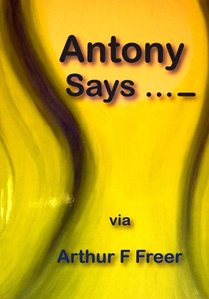 Anthony Says...