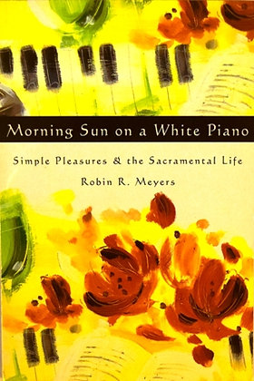 Morning Sun on White Piano