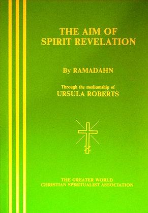 The Aim of Spirit Revelation (Green Cover)