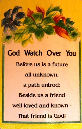 God watch over you