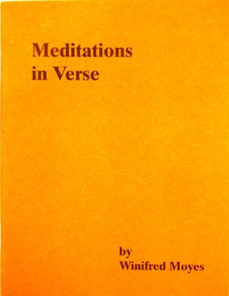 Meditations in Verse by Winifred Moyes