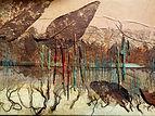 Detail Flotsam and Jetsam - mixed media