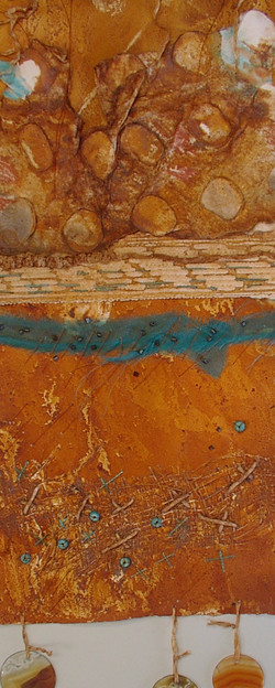 rust wall piece