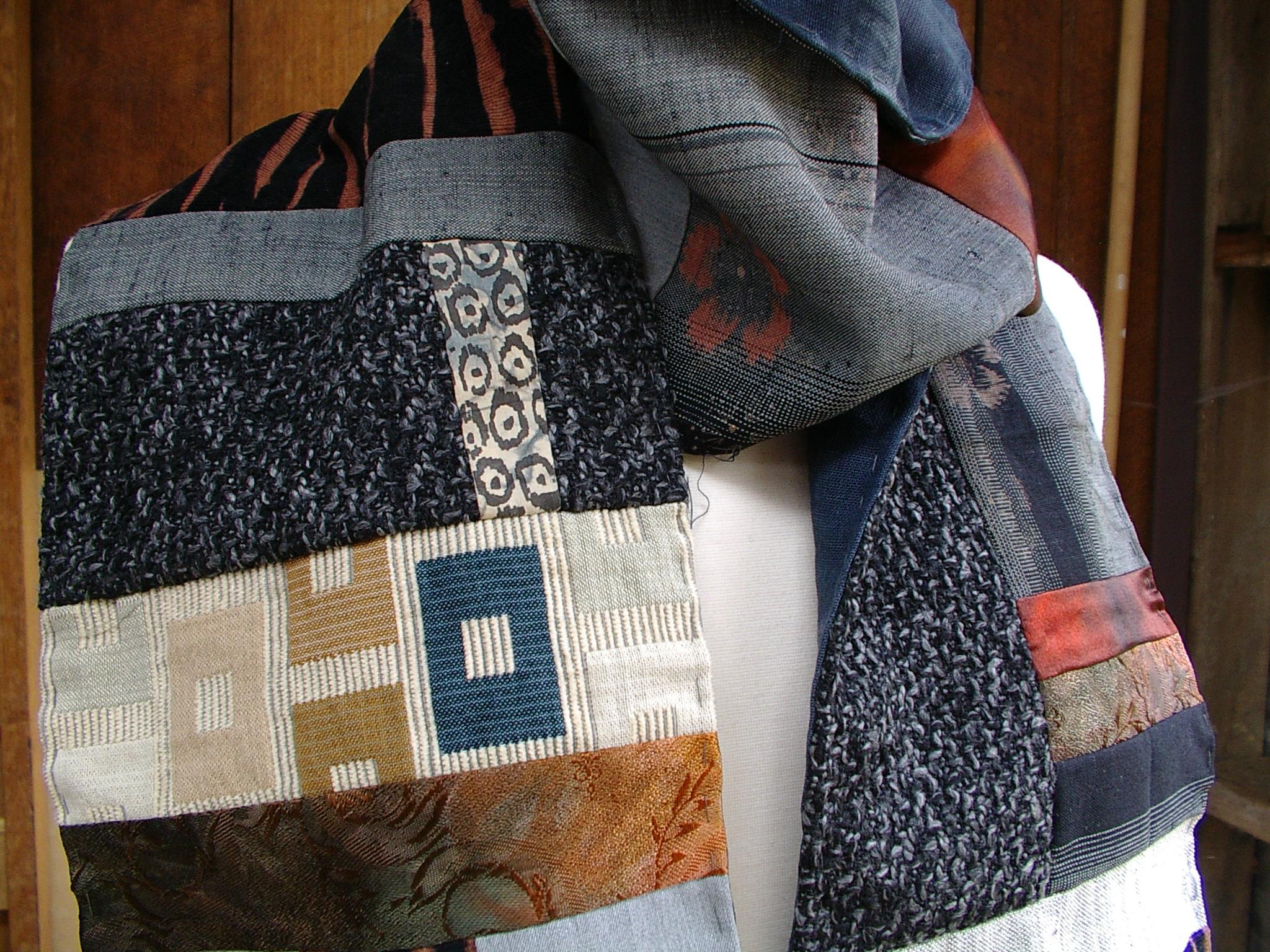 pieced scarf