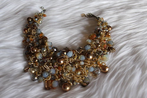EMBELLISHED NECKLACE