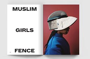 'Muslim Girls Fence - a visual essay celebrating the girls of Maslaha'