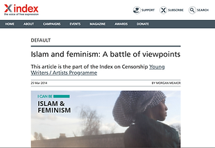 'Islam and feminism: A battle of viewpoints'