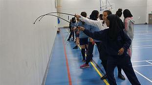 'Muslim girls fence against Islamophobia in the UK'