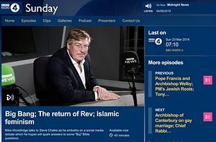 'Big Bang; The return of Rev; Islamic feminism'