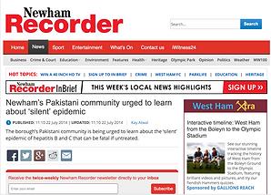'Newham's Pakistani community urged to learn about 'silent' epidemic'